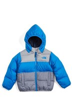 The North Face Toddler Boy's 'Moondoggy' Water Repellent Reversible Down Jacket