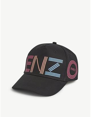 Kenzo Kids logo-print cotton cap