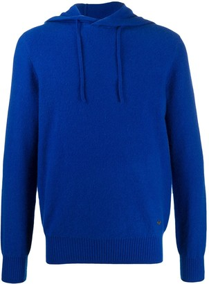 Emporio Armani Knitted Hoodie