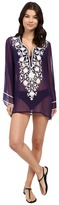 Ella Moss Stella Embroidered Tunic Cover-Up