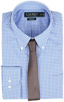 Lauren Ralph Lauren Classic Button Down with Pocket Dress Shirt