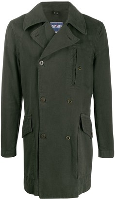 Jean Paul Gaultier Pre Owned 1990s Straight Double-Breasted Coat