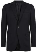 Jaeger Wool Slim Fit Suit Jacket, Black