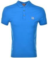 BOSS ORANGE Pavlik Polo T Shirt Blue