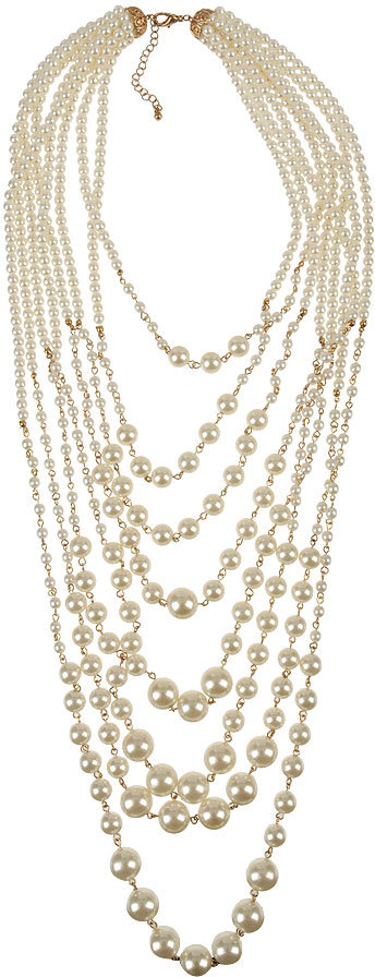 Forever 21 Carmella Faux Pearl Necklace