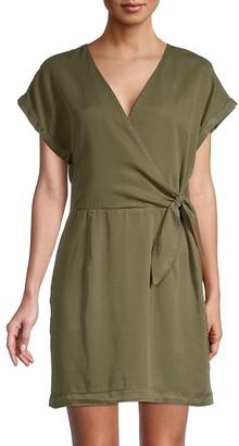 Vero Moda Lisa Wrap-Effect Dress