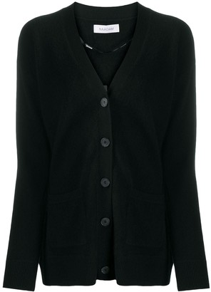 Naadam Button-Up Cashmere Cardigan
