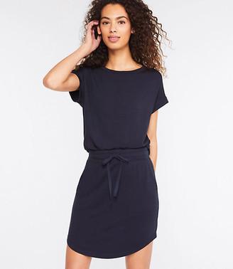 LOFT Lou & Grey Signature Softblend Drawstring Skirt