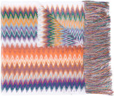 Missoni zigzag scarf - women - Nylon/Viscose - One Size