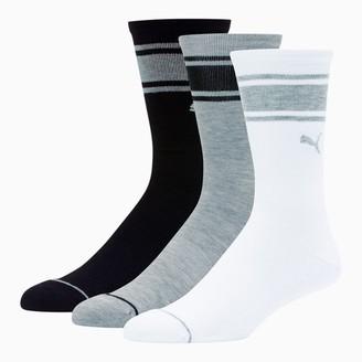 Puma Men's Crew Socks [3 Pack]
