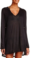 Athena Cabana Hooded Tunic Swim Cover-Up