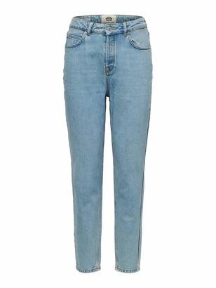 Selected Women's Slffrida Hw Mom Aruba Jeans Noos