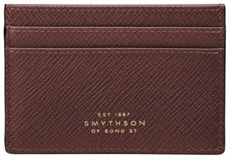Smythson Panama Leather Card Case