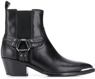 Ash Dusty Combo cowboy boots