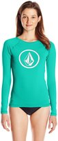 Volcom Women's Simply Solid Long Sleeve Rash Guard