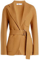 Victoria Beckham Wool Jacket with Cashmere