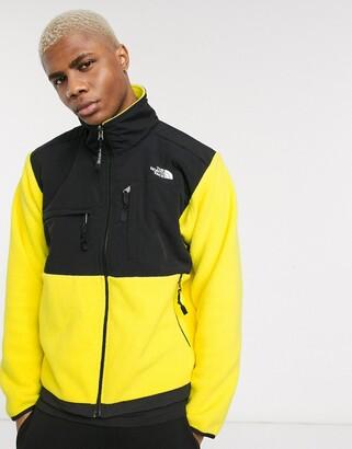 The North Face 95 Retro Denali fleece jacket in yellow