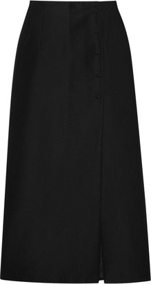 Gucci Front Slit Skirt