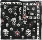 Alexander McQueen skull print scarf - women - Silk - One Size
