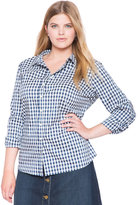 ELOQUII Plus Size Stretch Perfect Shirt