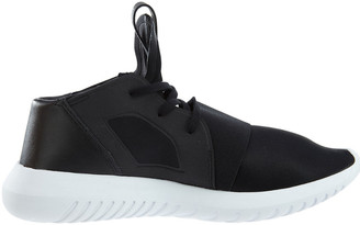 adidas Tubular Defiant Leather-Trim Sneaker