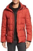 Michael Kors Men's Vest Inset Quilted Jacket
