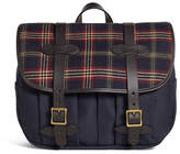 Brooks Brothers Exclusive for Filson® Tartan and Canvas Messenger