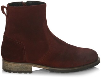 Belstaff Attwell Burnished Leather Boots