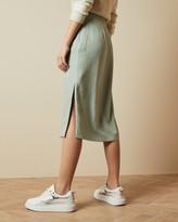 Ted Baker NARLICA Panelled skirt with side slit