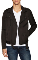 BLK DNM Belted Motorcycle Jacket