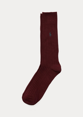 Ralph Lauren Egyptian Cotton Ribbed Socks