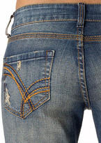 Delia's Bailey Sunspot Wash Low-Rise Flare Jean