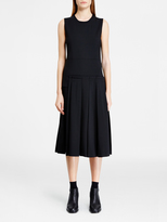 DKNY Dress With Pleated Skirt
