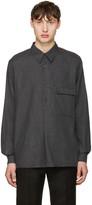 Lemaire Grey Twill Overshirt