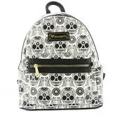Loungefly Skull Tattoo Flash Mini Backpack
