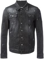 DSQUARED2 microstudded denim jacket - men - Cotton/Spandex/Elastane/Aluminium - 52