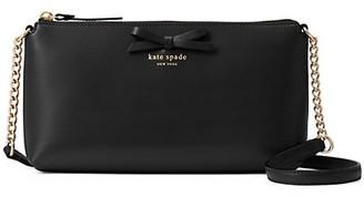 Kate Spade Declan Bow Leather Crossbody Bag
