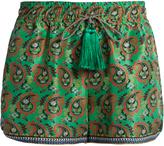 Etro Paisley-print silk shorts