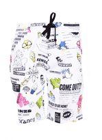 Kenzo Cartoon Flyers Lounge Shorts