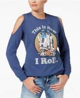 Star Wars Juniors' R2-D2 Cold-Shoulder Sweatshirt