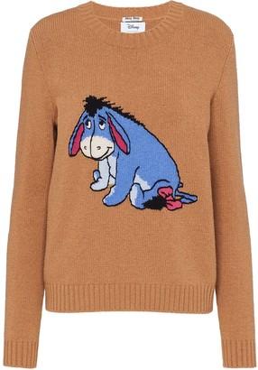 Miu Miu x Disney wool jumper