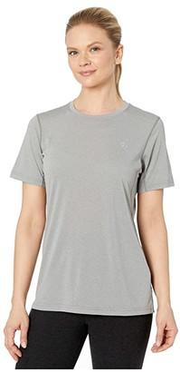Fjallraven Abisko Day Hike Short Sleeve (Shark Grey) Women's Clothing