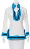 Alice + Olivia Long Sleeve Linen Tunic w/ Tags