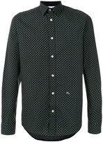 Diesel cross detail printed shirt - men - Cotton - S