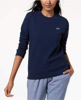 Lacoste Fleece Waffle-Knit Sweatshirt