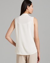 Calvin Klein Top - Sleeveless Geo Lace