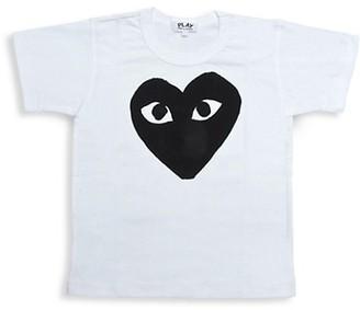 Comme des Garcons Little Kid's Play Kid's Logo T-Shirt