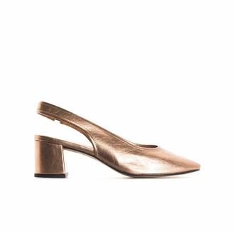 L'Intervalle LIntervalle Women's Juros Copper Metallic Uniform Dress Shoe 5 UK