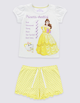 Marks and Spencer Disney Princess Short Pyjamas (1-10 Years)