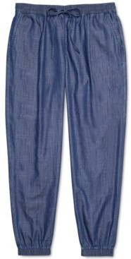 Tommy Hilfiger Adaptive Women's Jogger Pants with One Handed Drawstring